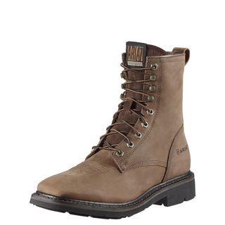 10011916 Cascade 8 Inch Wide Square Toe Work Boot-
