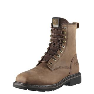 10011917 Cascade 8 Inch Wide Square Toe Steel Toe Work Boot