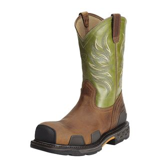 OverDrive Wide Square Toe Composite Toe Work Boot-