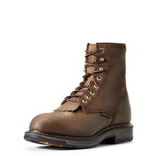10011943 WorkHog 8 Inch Waterproof Composite Toe Work Boot-Ariat