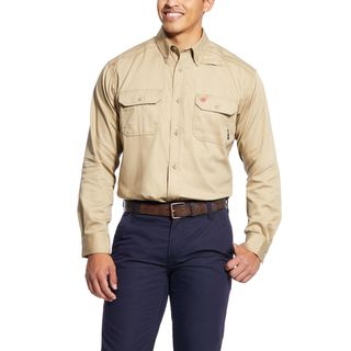 FR Solid Work Shirt-
