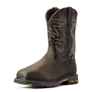 10016265 WorkHog Wide Square Toe Waterproof MetGuard Composite Toe Work Boot-