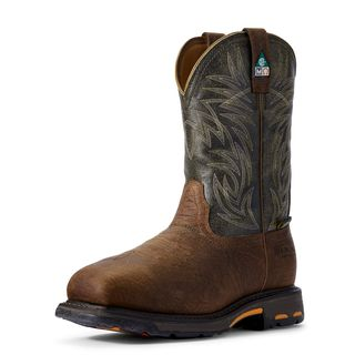 10017174 WorkHog Wide Square Toe CSA MetGuard Composite Toe Work Boot-