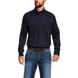 FR Solid Work Shirt-