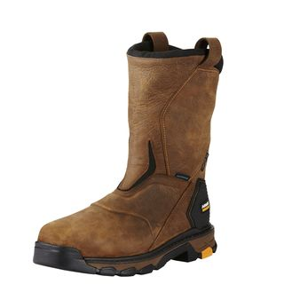 Intrepid Pull-On Waterproof Composite Toe Work Boot-