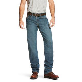 Rebar M3 Loose DuraStretch Basic Stackable Straight Leg Jean-Ariat