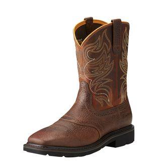 Sierra Shadowland Steel Toe Work Boot-