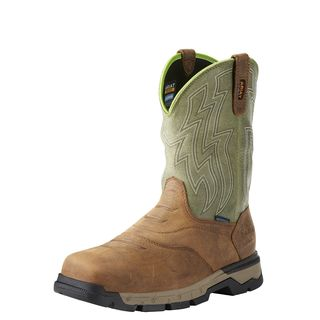 Rebar Flex Western Waterproof Composite Toe Work Boot-
