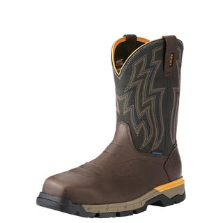 Rebar Flex Western Waterproof Composite Toe Work Boot-Ariat