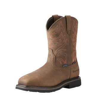 Sierra Delta Waterproof Steel Toe Work Boot-