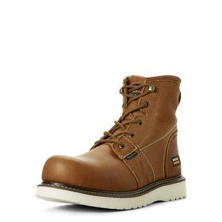 Rebar Wedge 6 Inch Waterproof Work Boot-