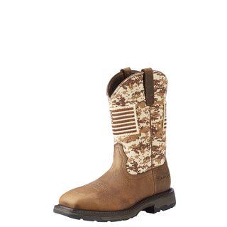 10023100 WorkHog Patriot Work Boot