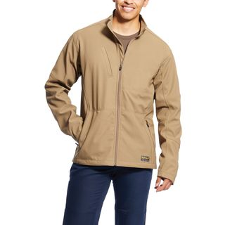 Rebar Stretch Canvas Softshell Jacket-Ariat