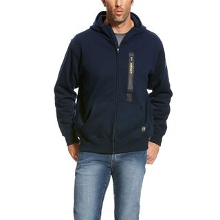 Rebar Workman Full Zip Hoodie-Ariat