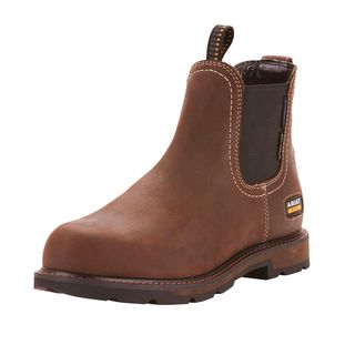 Groundbreaker Chelsea Waterproof Steel Toe Work Boot-Ariat