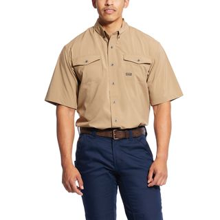 Rebar Made Tough VentTEK DuraStretch Work Shirt-Ariat