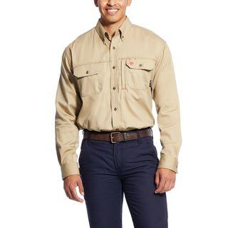 FR Solid Vent Work Shirt-Ariat