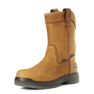 10027328 Turbo Pull-On Waterproof Carbon Toe Work Boot-