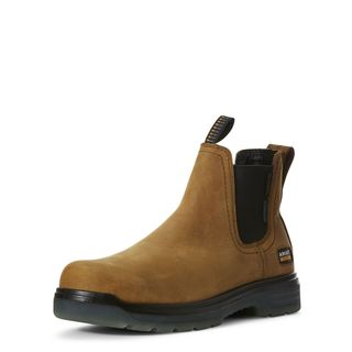 Turbo Chelsea Waterproof Carbon Toe Work Boot-Ariat