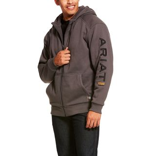 Rebar All-Weather Full Zip Hoodie-Ariat