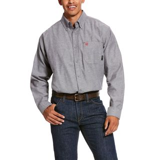 FR Solid Twill DuraStretch Work Shirt-Ariat