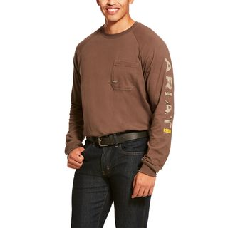 Rebar Cotton Strong Graphic T-Shirt-Ariat