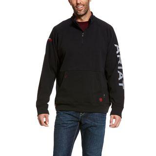 FR Primo Fleece Logo 1/4 Zip Sweater-Ariat
