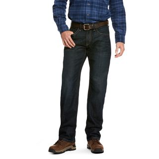 Rebar M5 Slim DuraStretch Edge Stackable Straight Leg Jean-
