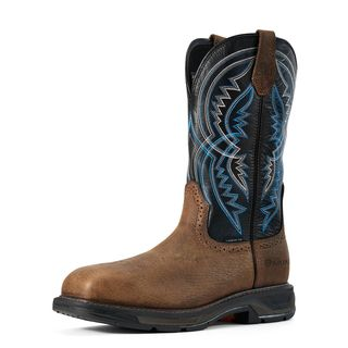 WorkHog XT Coil Wide Square Toe Carbon Toe Work Boot-