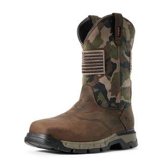 Rebar Flex Patriot Waterproof Composite Toe Work Boot-