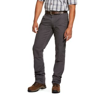 Rebar M4 Low Rise DuraStretch Made Tough Double Front Stackable Straight Leg Pant-Ariat
