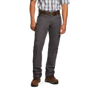 Rebar M4 Low Rise DuraStretch Made Tough Stackable Straight Leg Pant-Ariat