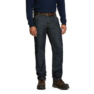 10030263 FR M4 Low Rise Stretch Duralight Workhorse Stackable Straight Leg Jean-