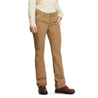 FR Stretch DuraLight Canvas Stackable Straight Leg Pant-