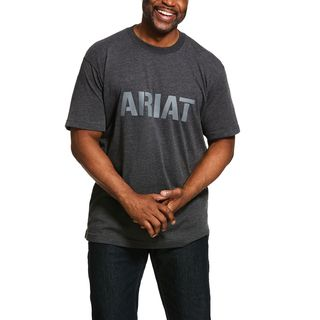 Rebar Cotton Strong Block T-Shirt-Ariat