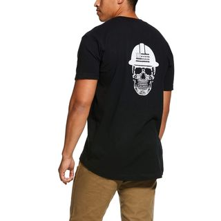 Rebar Cotton Strong Roughneck Graphic T-Shirt-