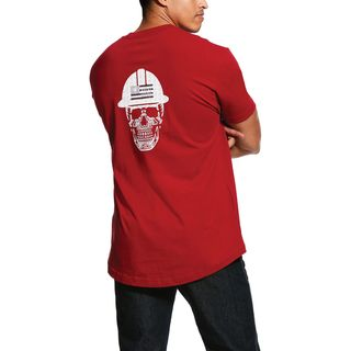 Rebar Cotton Strong Roughneck Graphic T-Shirt-