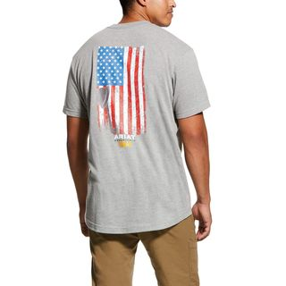 Rebar Cotton Strong American Grit Graphic T-Shirt-Ariat