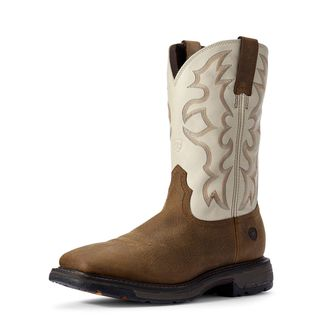 WorkHog Wide Square Toe Work Boot-