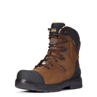 Turbo Outlaw 8 Inch CSA Waterproof 400g Carbon Toe Work Boot-