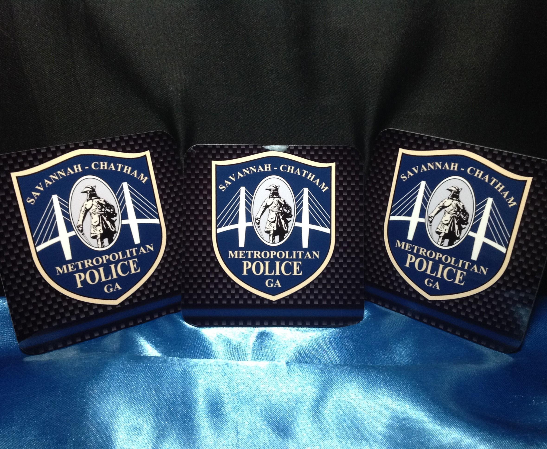 Savannah Chatham County Police Coaster 1