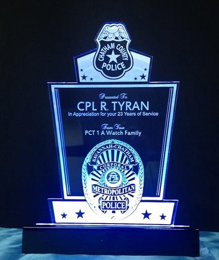 Savannah Chatham County Police Department Award