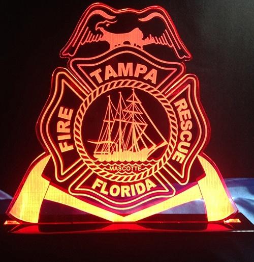 Tampa Florida Fire Rescue LED-