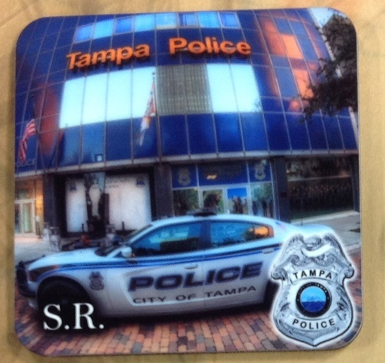 Tampa Police Coasters 1