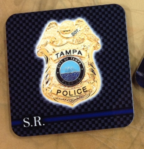 Tampa Police Coasters 2