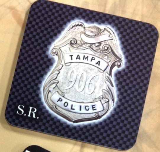 Tampa Police Coasters 3