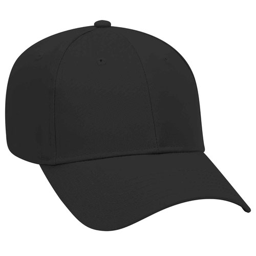 6 Panel Low Profile Baseball Cap-