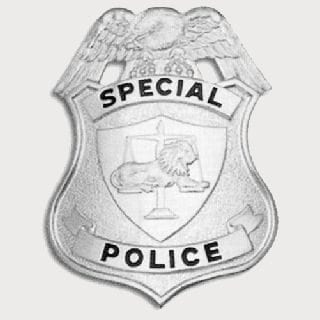 Special Police Badge-Classic Custom
