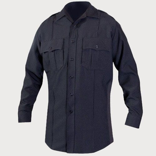 Classic Custom 100% Polyester L/S Security Shirts-Classic Custom