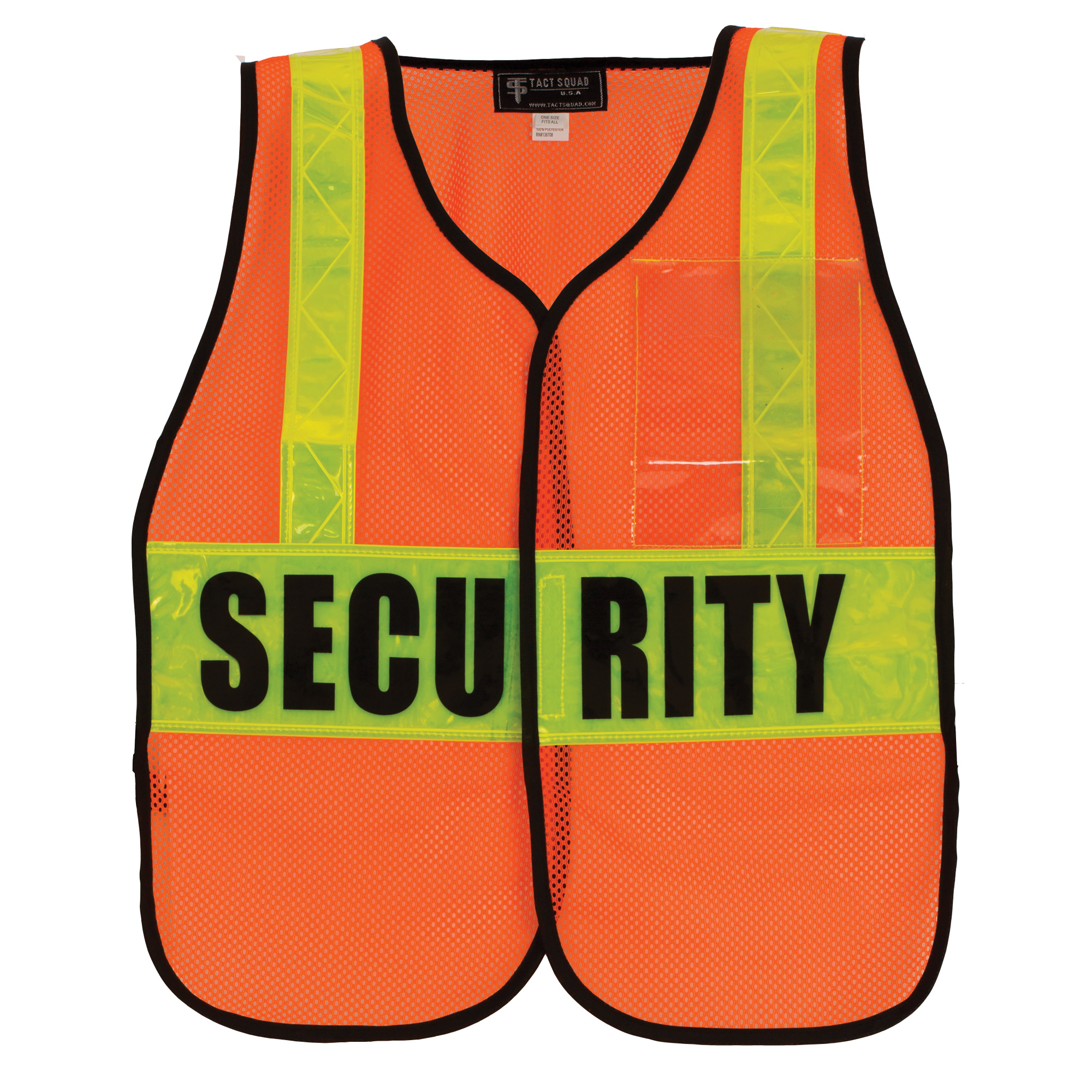 Tact Squad DC65 Air-Mesh Safety Vest-